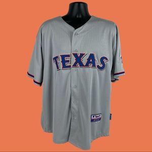 Majestic MLB Texas Hamilton 32 Jersey SZ 54